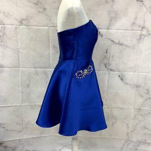 B. Darlin Dresses - B. Darlin A-Line Strapless Dress